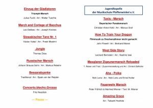 Programm Frühjahrskonzert 2016-2